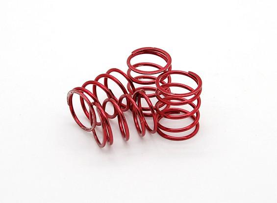 TrackStar Suspensión resorte rojo 21 x 14 mm 3,5 kg (4) S129450