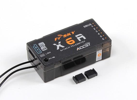 FrSky X6R 6 / 16Ch S.Bus ACCST receptor de telemetría W / Smart puerto (2015 versión de la UE)