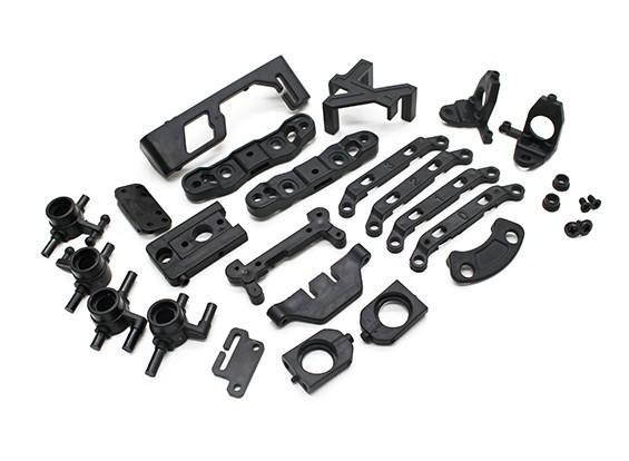 Plástico Reforzado con el juego de piezas - Turnigy TZ4 AWD - Turnigy TZ4 AWD