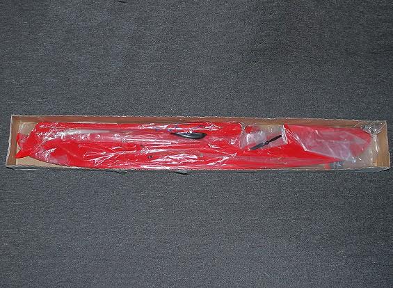 SCRATCH / DENT Dragón Rojo 1228mm Pilón corredor de fibra de vidrio (PNF)