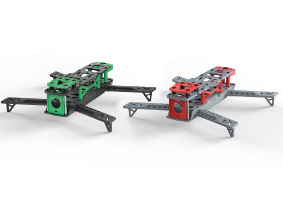 KINGKONG 260 FPV conjunto de cuadros que compite con aviones no tripulados (par) (Kit)