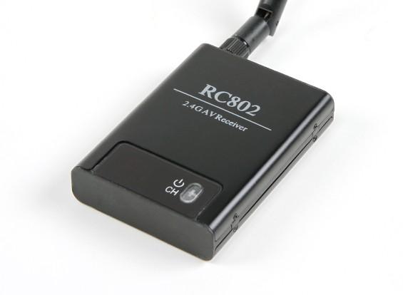 SkyZone RC802 - 2,4 GHz 8 Receptor AV Canal