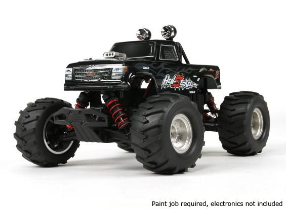Basher 1/16 4WD Mini Monster Truck V2 - Hellseeker (Kit)