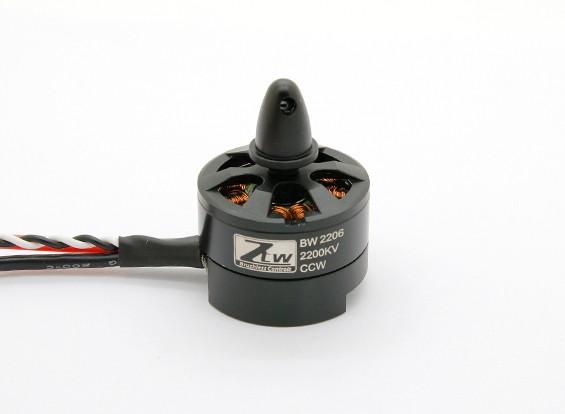 Viuda Negro 2206 2200KV Incorporados CCW ESC