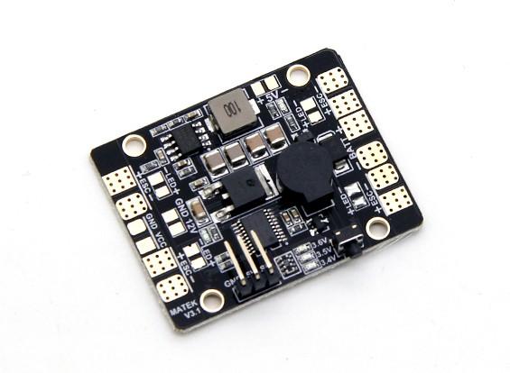 Matek Sistemas de distribución de alimentación 5 en control de iluminación LED 1, alarma de bajo voltaje LED & Power Hub V3