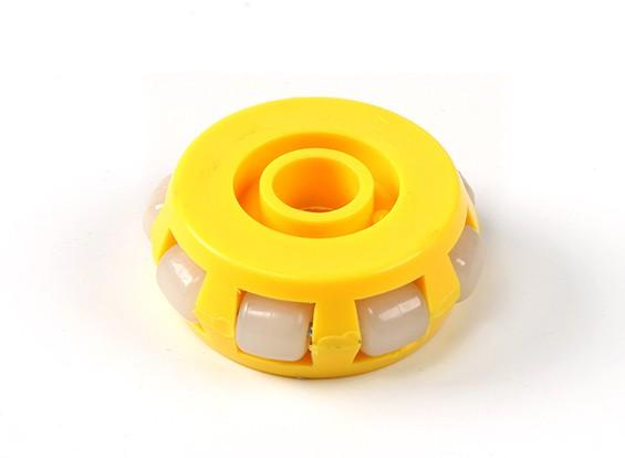 Circular de montaje GD-03A omnidireccional solo 40mm de ruedas del robot Capa / 10kg
