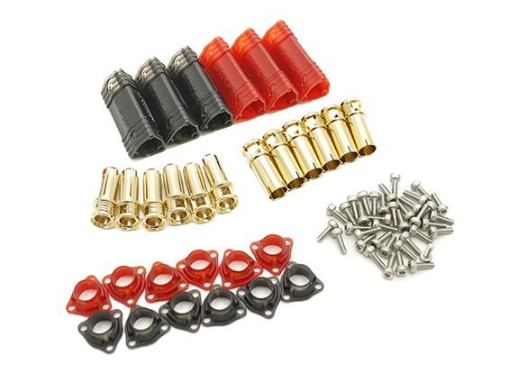6mm Supra X bala de oro polarizados El conjunto de empalme (3 pares)