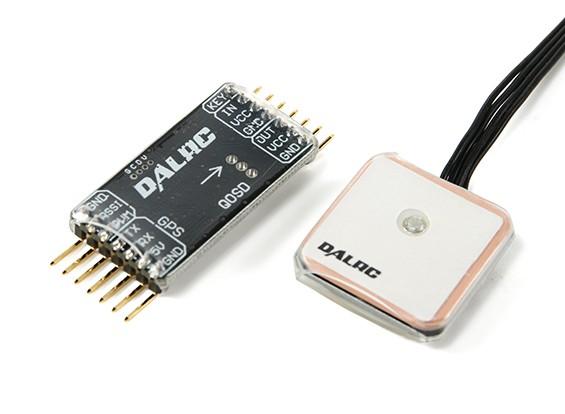DALRC FPV On Screen Display (OSD) y GPS