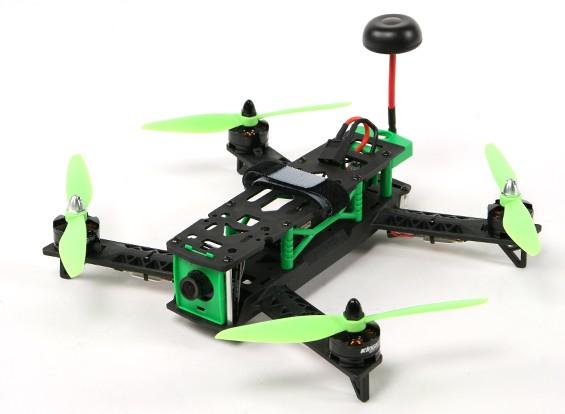 KINGKONG 260 FPV que compite con aviones no tripulados Plug & Play (verde)