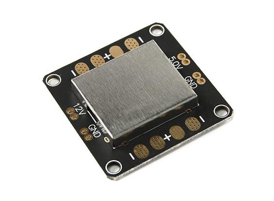 Placa de distribución de alimentación Super Mini w / Twin BEC (5V / 12V) para CC3D y Revo controladores de vuelo
