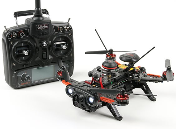 Walkera Runner 250R RTF GPS FPV Quadcopter w / Modo 2 Devo 7 / Batería / 1080P HD DVR de la cámara / VTX / OSD