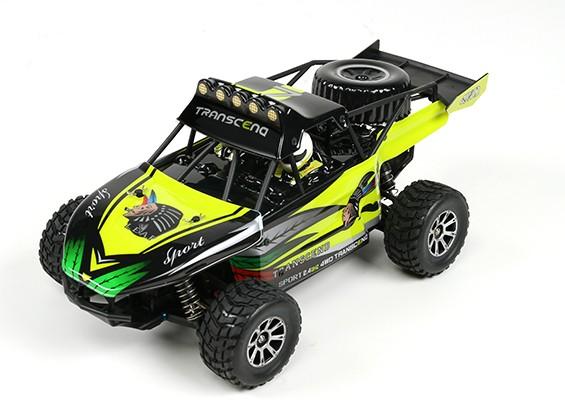 Juguetes del WL 1/18 4WD K929 Desert Buggy w / 2,4 GHz Sistema de Radio (RTR) (sin batería)