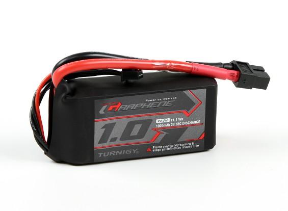 El grafeno Turnigy 1000mAh 3S 65C Lipo paquete w / XT60