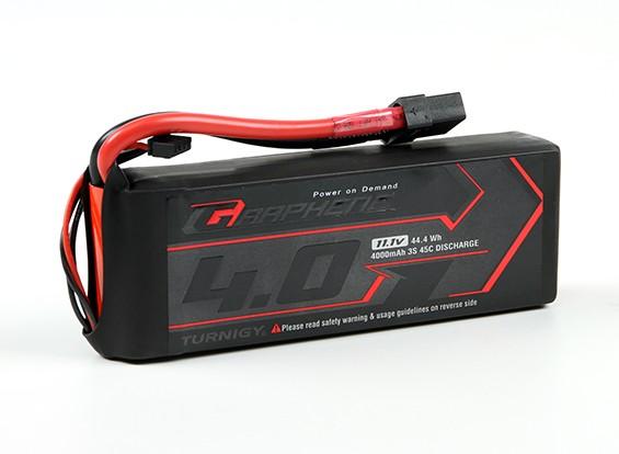 El grafeno Turnigy 4000mAh 3S 45C Lipo paquete w / XT90