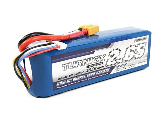 Turnigy 2650mAh 6S Lipo 20C Paquete