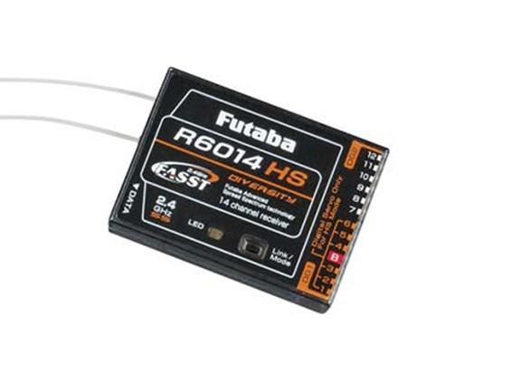 Futaba R6014HS de 14 canales receptor FASST