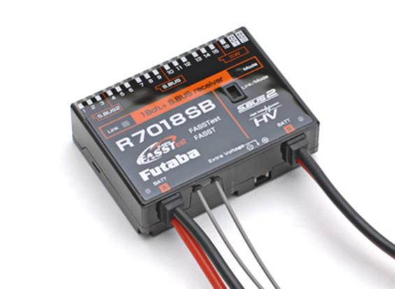 Futaba R7018SB S.Bus / 2 18CH FASSTest receptor de telemetría