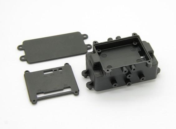 Caja de batería (1pcs) - Basher Rocksta 1/24 4WS Mini Rock Crawler