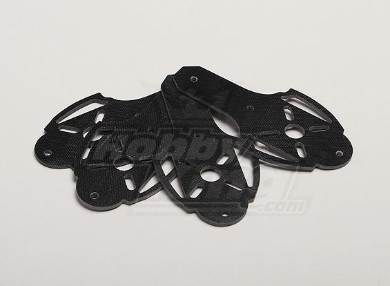 Hobbyking X525 V3 fibra de vidrio de montaje del motor (4pcs / bolsa)