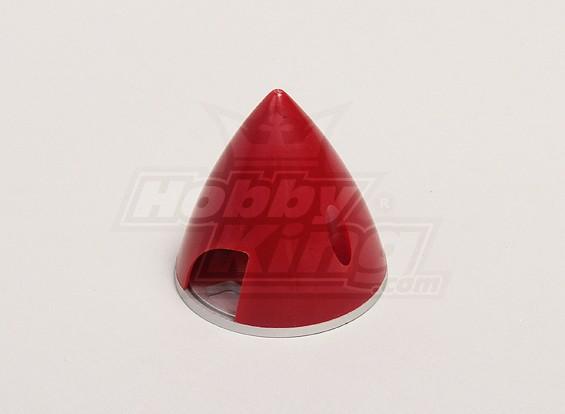 Spinner nylon con aleación de 51 mm Placa Roja
