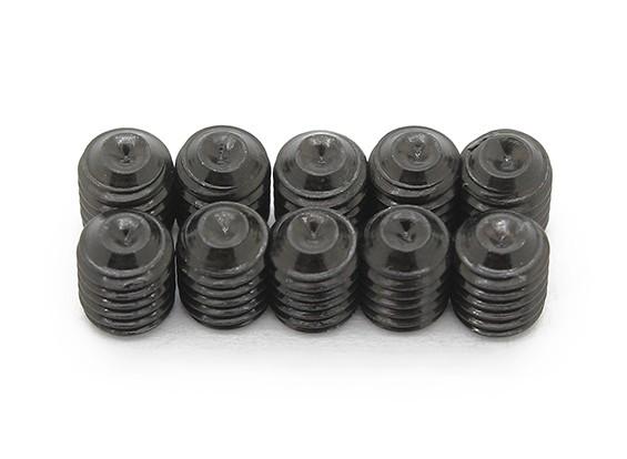 De metal tornillo de cabeza hendida M5x6-10pcs / set