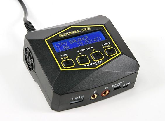 Accucell S60 cargador de CA (enchufe de Reino Unido)