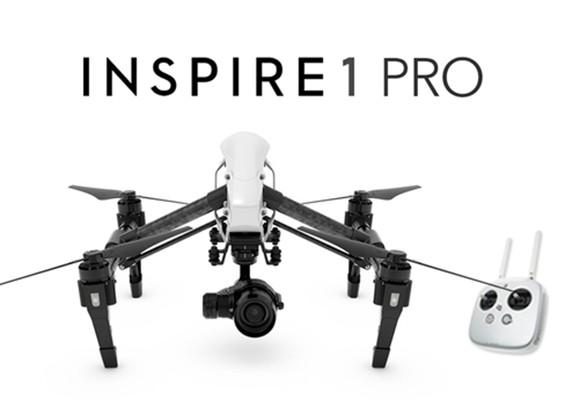 DJI Inspire Pro Edition 1 Quadcopter con la cámara 4K y 3 ejes cardán (RTF)