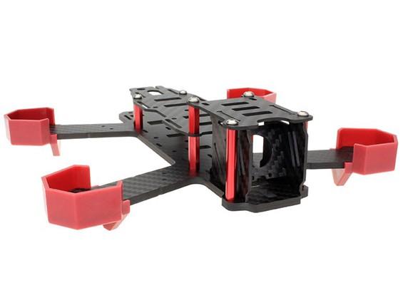 NightHawk Juego de Estructura de aviones no tripulados de fibra de carbono 200 (4mm marco inferior)