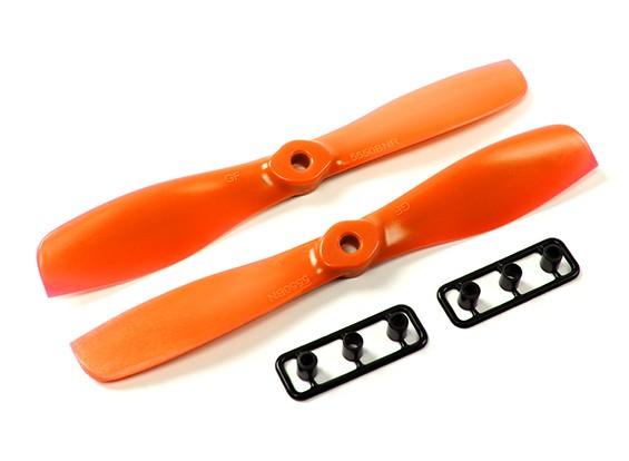 GemFan 5550-Bullnose un pares (CW y CCW) Naranja