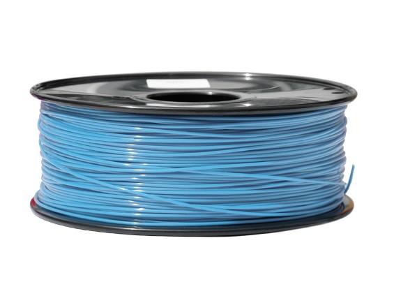 HobbyKing 3D Filamento impresora 1.75mm PLA 1kg Carrete (azul claro)