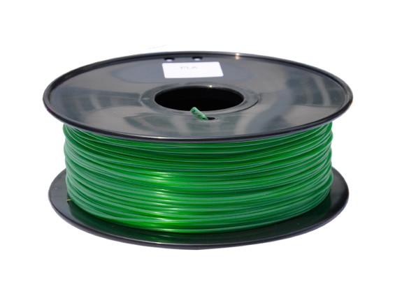HobbyKing 3D Filamento impresora 1.75mm PLA 1kg Carrete (hierba verde)
