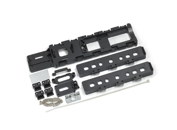 HydroPro Inception Regatas - Plastic Components Monte Conjunto