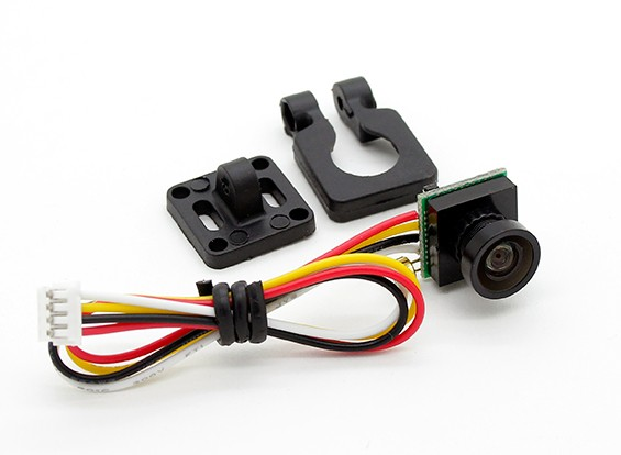 DIATONE 600TVL 120deg cámara miniatura (Negro)