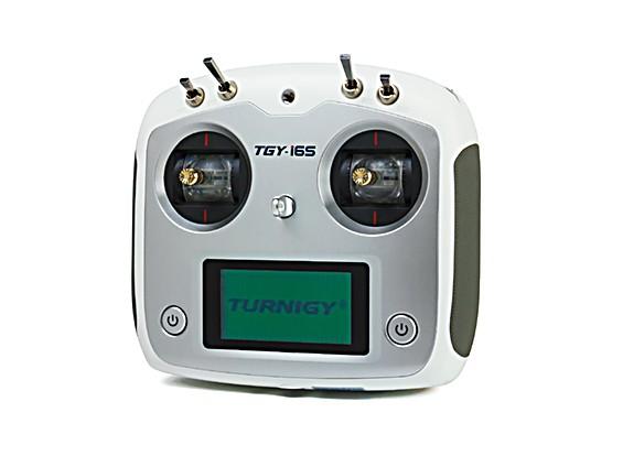 Sistema Turnigy TGY-i6S digital proporcional del control de radio (Modo 1) (Blanco)