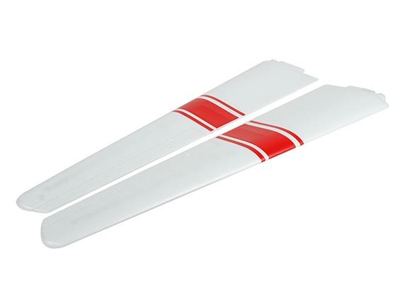 HobbyKing Salón Cherokee Planeador 1700mm - izquierda y ala derecha Set w / etiquetas