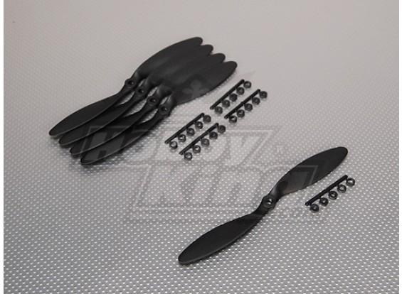 GWS Estilo Slowfly hélice 8x3.8 Negro (CCW) (5pcs)