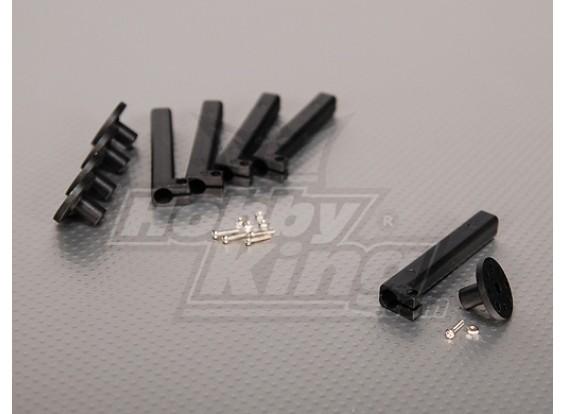 Motor eléctrico de los separadores 10 mm Soportes pequeña base (5pcs / bolsa)