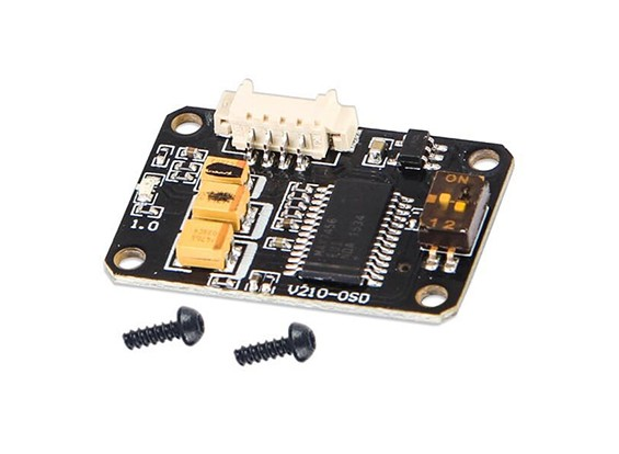 Walkera F210 Quad Racing - OSD