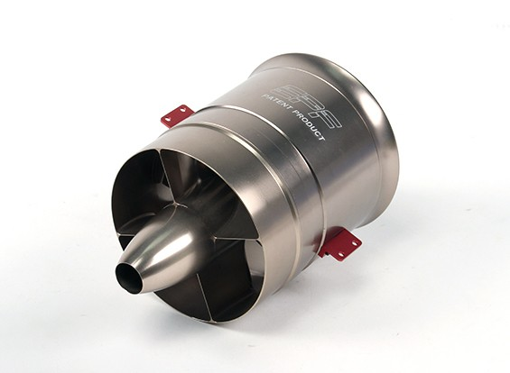 Mercurio aleación de aluminio de 104 mm Unidad 11 EDF lámina CCW (6S 1900KV)
