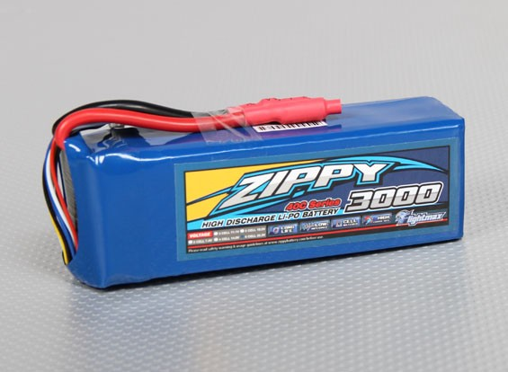 40C ZIPPY Flightmax 3000mAh 6S1P