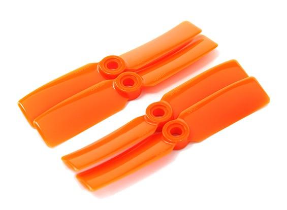 DYS T3545-O 3.5x4.5 CW / CCW (par) - 2pairs / pack de Orange