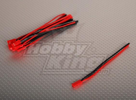 Mujer JST batería flexible de conexión 10 cm de longitud (10pcs / bag)