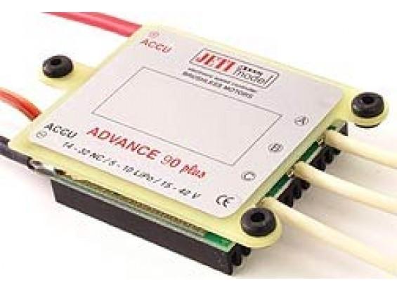 Jeti Advance Plus 90 Amp Opto de motor sin escobillas