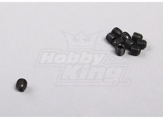 Hex tornillo de cabeza hendida M5 (10pcs / bag) - 1/5 4WD Big Monster