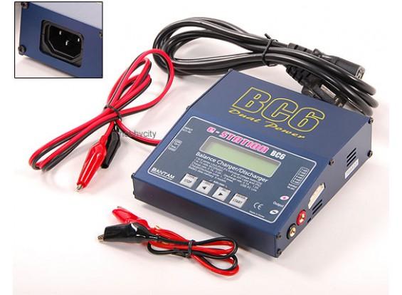 e-estación BC-6 Equilibrio de NiCad / NiMH, cargador de Lipo