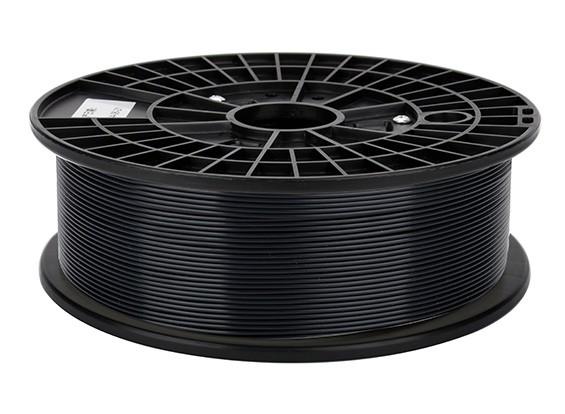 CoLiDo 3D Filamento impresora 1.75mm ABS 500G Carrete (Negro)