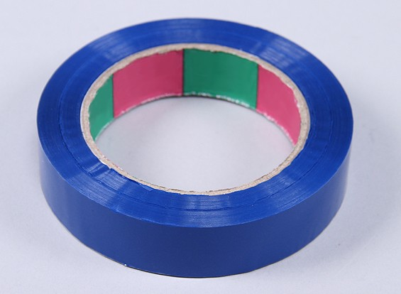 Cinta ala 45mic x 24 mm x 100 m (Estrecho - azul)