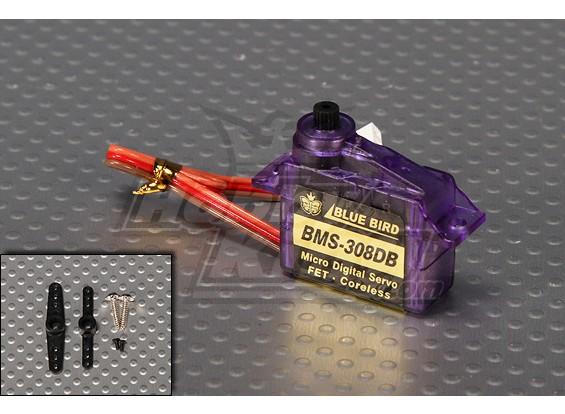 BMS-308DB Dual Ball Bearing Digital Micro Servo 1,2 kg / 0.10sec / 6g