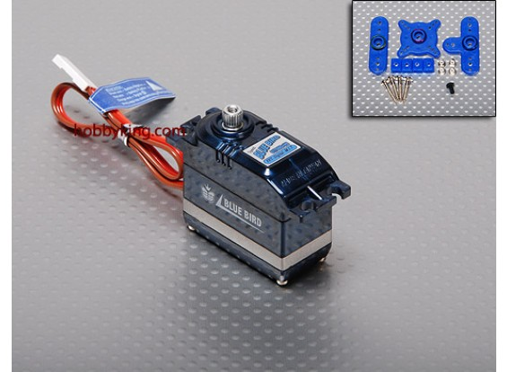 BMS-617DMGplusHS V-Fast Digital Servo Buggy (MG) 6,8 kg / .10sec / 46.5g