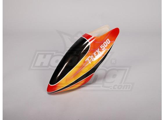 Canopy de fibra de vidrio para Trex-500 eléctrico